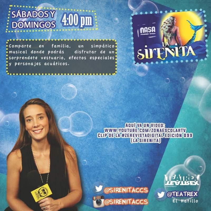 Video Clip – La Sirenita – Sabrina Salvador