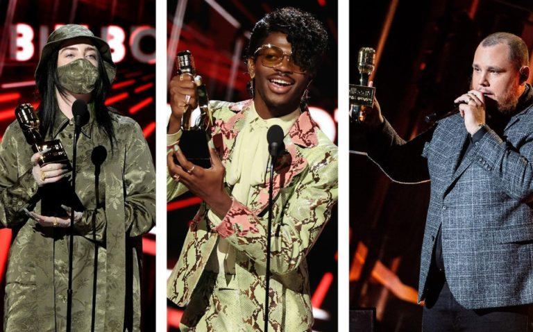 Premios y mejores momentos de los Billboard Music Awards 2020