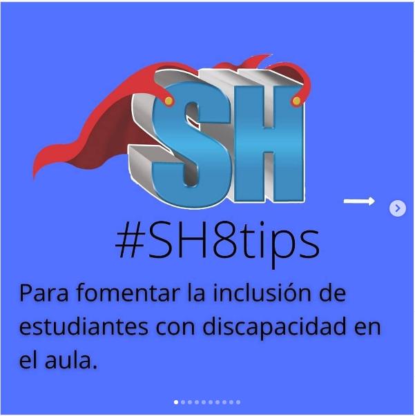 #SH8tips para fomentar la inclusión de estudiantes con discapacidad en el aula