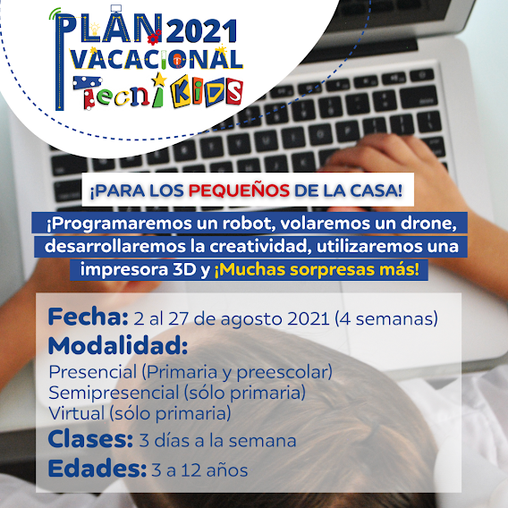 #LoncheraInformativa: Plan Vacacional Tecnikids #ZErutaVerano