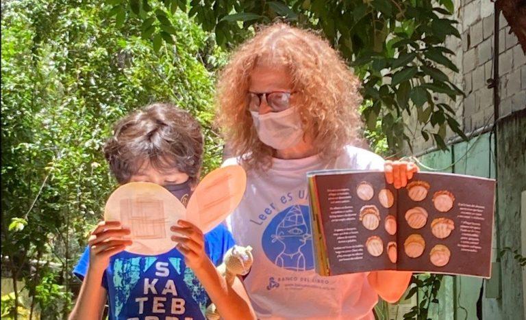 Banco del Libro celebró el Día Mundial de la Arepa con «La Hora del Cuento»