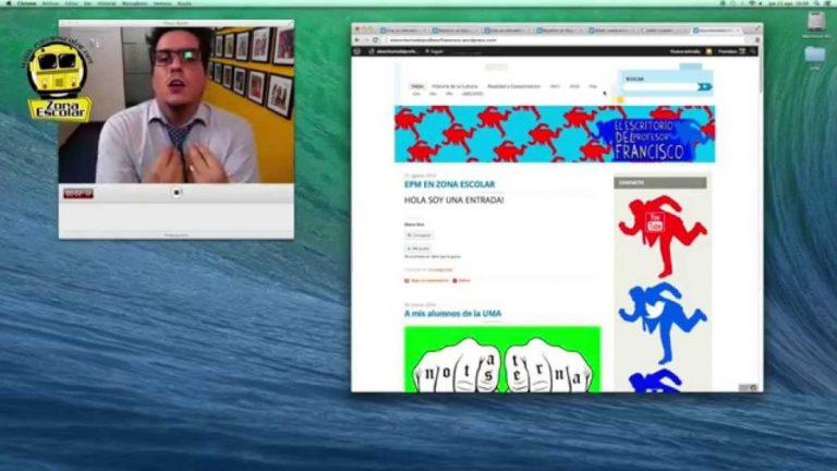 Chequea como crear tu propio blog en la EPM junto al profe Francisco Blanco