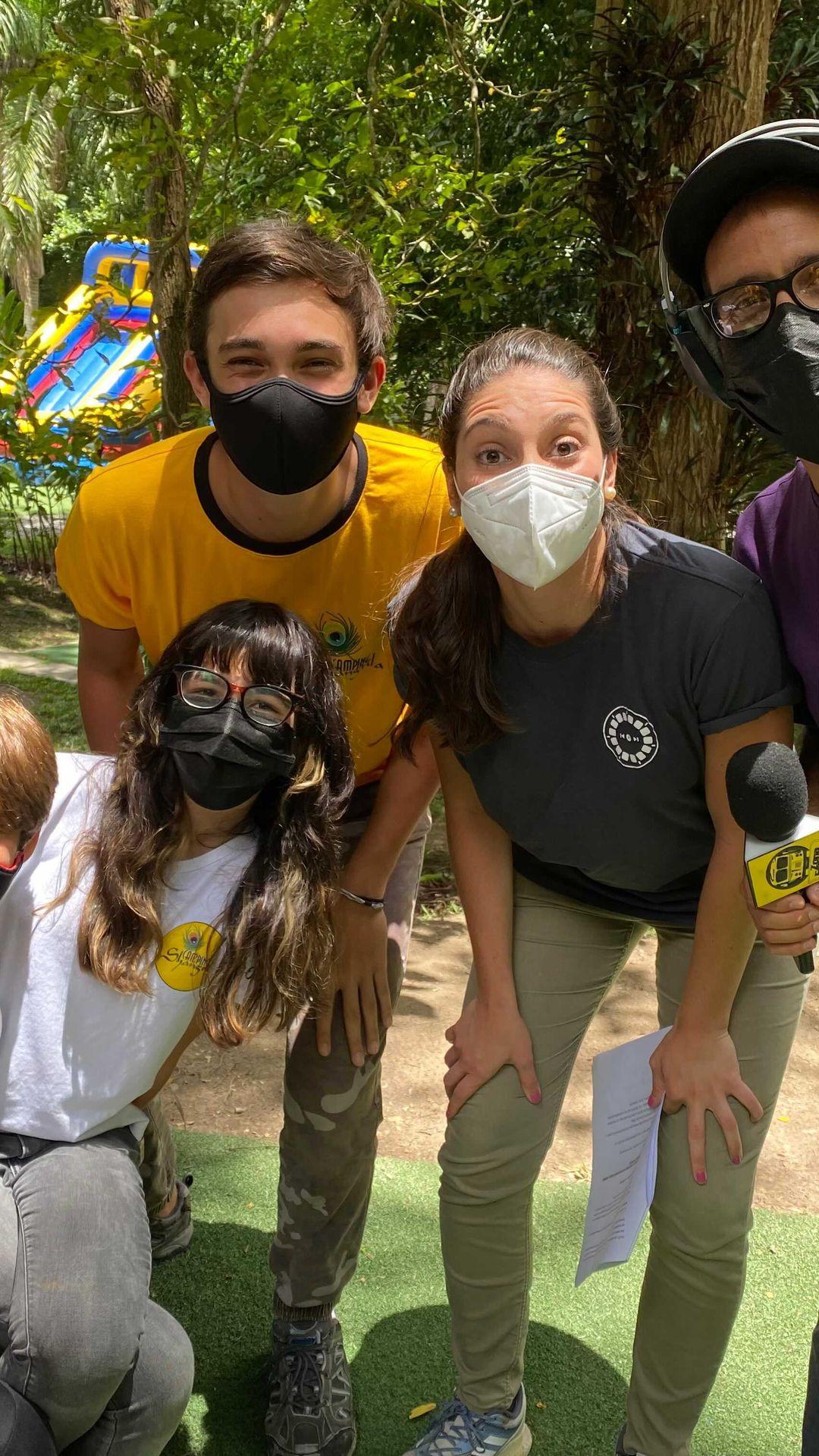 #RadioReto estuvo en el Camping Shangrilá estas vacaciones